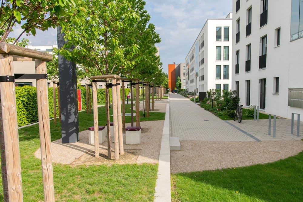 Wohnanlagen am Alaunpark, Dresden-Neustadt Teil 3