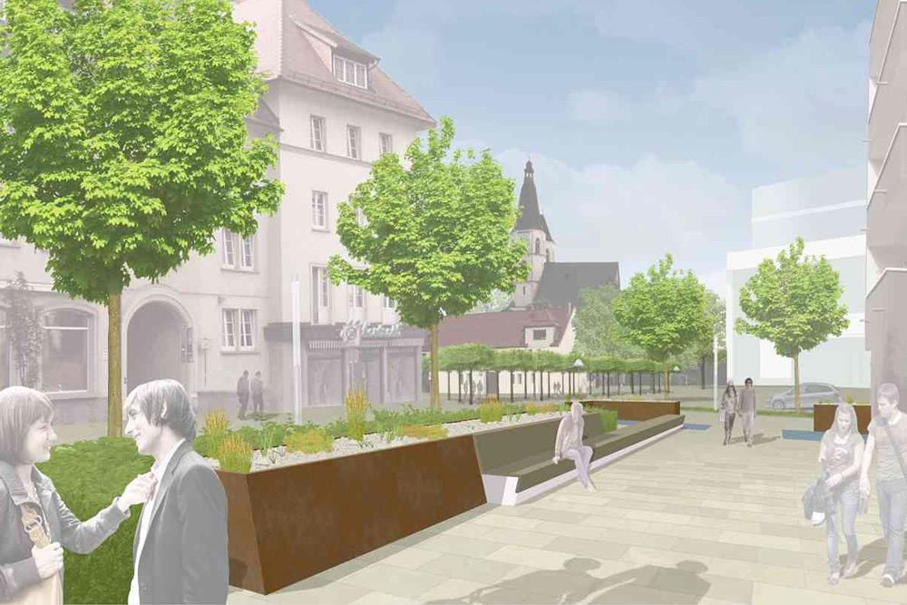 Blasiikirchplatz Nordhausen
