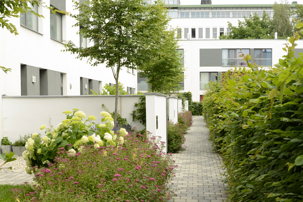 Wohnanlagen am Alaunpark, Dresden-Neustadt Teil 1